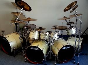 Tama Starclassic Bubinga Elite und Sabian Cymbals