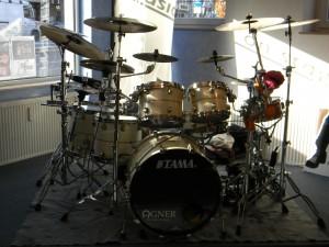 Tama Starclassic Bubinga Drumset - Workshops 2010