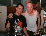 1996 Harry Reischmann und Myron Grombacher (Pat Benatar)