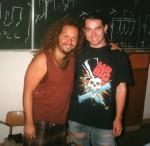 1996 Tal Bergman (Billy Idol) und Harry Reischmann