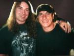 2001 Brian Jonson (ACDC) und Harry Reischmann