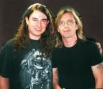 2001 Harry Reischmann und Phil Rudd (ACDC)