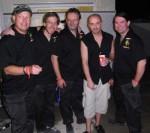 2008 Didi Trabert, Jan Van Meerendonk, Jörg Bach, Scott Rockenfield (Queensryche) und Harry Reischmann