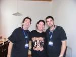 2008 Richie Gajate Garcia, Harry Reischmann und Russ Miller