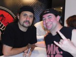 2010 Dave Lombardo(Slayer) und Harry Reischmann