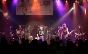 Bora, Harry Reischmann, Mitschel, Ramy, Warthy und  Michi mit der ALLSTAR-Band 2009