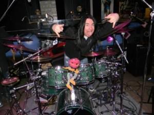 Harry Reischmann (Drums) - Skibbe 2011 im Rocks