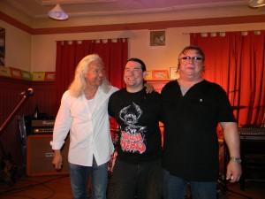 Hermann Skibbe, Harry Reischmann und Werner Saumweber 2011