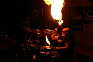 Harry Reischmann - Feuershow