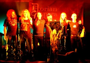 Andrew, Sven, Harry Reischmann, Wolfgang, Patricia and Oli - Dorian Opera 2011