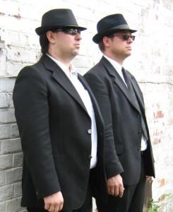 The German Blues Brothers - Harry Reischmann and Andi Reischmann