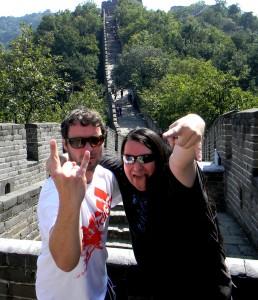 Maic Burkhardt and Harry Reischmann 2011 in China