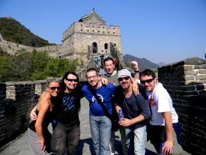Daniela, Harry Reischmann, Markus, John, Reiny and Maic - 2011 in China