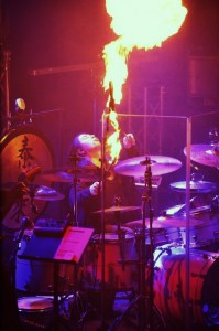 Harry Reischmann - Fire Show with Gregorian - Dark side of the chant Tour