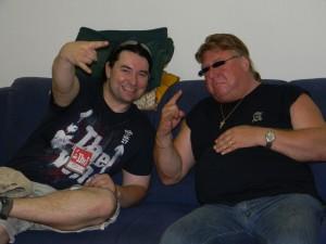 Skibbe Videodreh 2011 - Harry and Werner