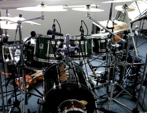 Studio Drums von Harry Reischmann - Sonor Designer