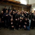 Gregorian - Singers, Band and crew in Bern - Februar 2011