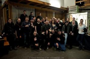 Gregorian - Singers, Band and crew in Bern - Februar 2011