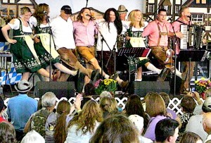 Donaumusikanten and Musikmakers on Stage 2011 in Mt. Angel
