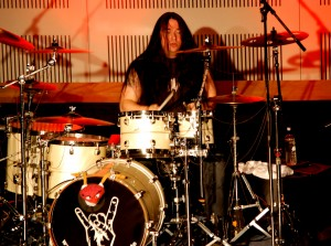 Harry Reischmann mit Tama Starclassic Drums, Sabian Cymbals and Agner Drumsticks