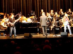 SKIBBE mit der Thilo Wolf Big Band 2012 in Fürth im Stadtheater