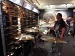Harry Reischmann bei Sabian Germany 2014