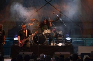 Bonfire mit Harry Reischmann live in Augsburg 2014