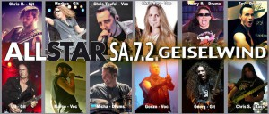 ALL STAR BAND - Februar 2015 in Geiselwind