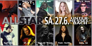 ALL STAR BAND 27.06.2015 in Unternesselbach