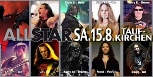 ALL STAR BAND 15.08.2015 in Taufkirchen