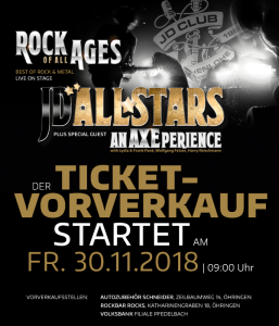 Rock of all ages - JD-Allstars