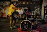 Wacken VIP-Presse Area 2019 - Drum show Harry Reischmann
