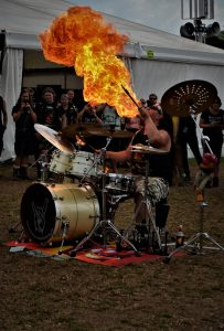 Wacken Foundation 2019 - Drum show Harry Reischmann