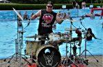 Wacken Schwimmbad 2019 - Drum show Harry Reischmann