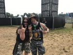 Harry Reischmann and my good friend from Japan Mack - Wacken 2019