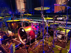Sarah Brightman in Mexico - 2019 Hymn World Tour - Drummer Harry Reischmann