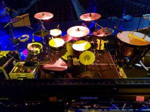 Sarah Brightman in Mexico - 2019 Hymn World Tour - Drummer Harry Reischmann