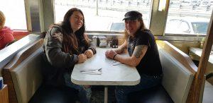 Frühstücken mit Ronnie Parkes (Bonfire) - in New Jersey