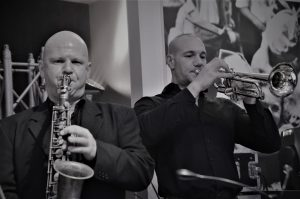 City Swingtett mit Harry Reischmann 2019 in Neu-Ulm im Wiley Club